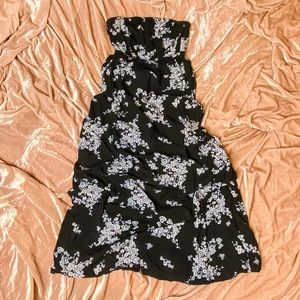 Old navy strapless maxi dress